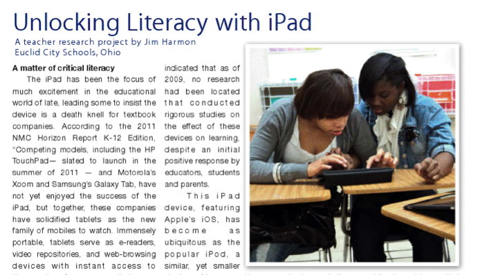 Validation of an iPADs Ability to Improve Student Achievement?